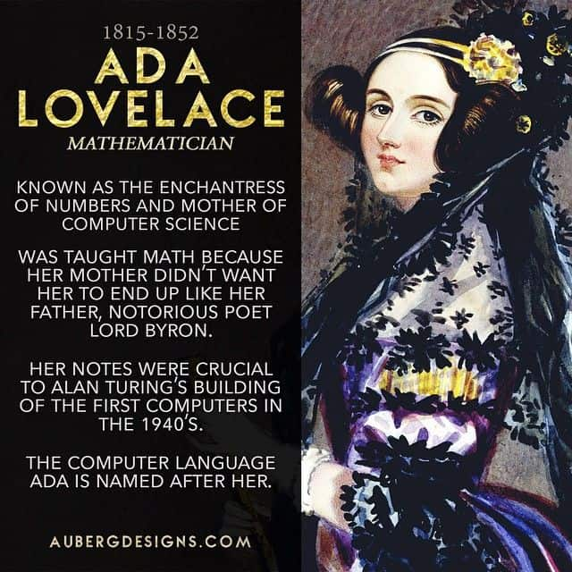 Ada Lovelace, woman in STEM