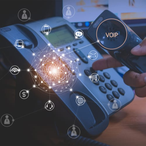 Integrated VOIP services